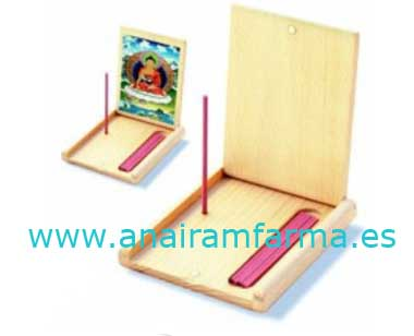 Altar Plegable 11,2x9, 6x1,7 cm