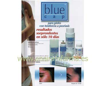 Blue Cap Loción 200 ml.