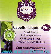 Cabello Líquido Plus Spray 35ml D'Shila