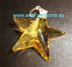 Colgante Estrella Amarilla (40 mm)