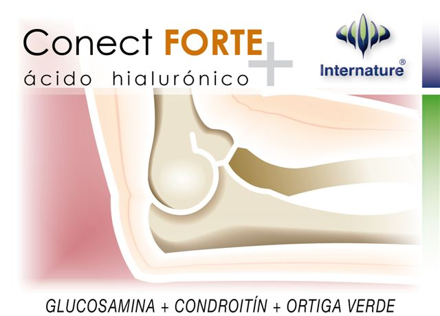 Conect Forte + Acido Hialurónico 60Cáps. Internature