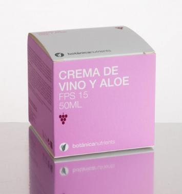 Crema Vino + Aloe 50ml Botánica Nutrients