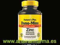 Dyno-Mins Zinc 60 Comp. Nature's Plus