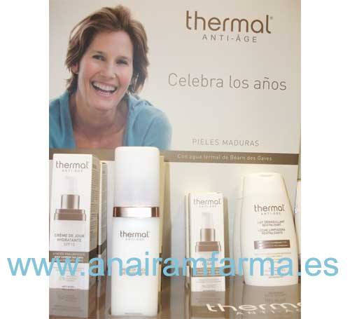 Thermal Anti-Âge Crema Día Hidratante SPF15 50ml