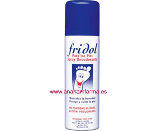 Fridol Spray Desodorante 200ml