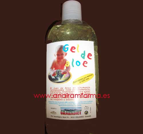 Gel Aloe 500ml Granadiet