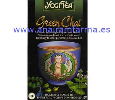 Yogi Tea Green Chai 15 Filtros