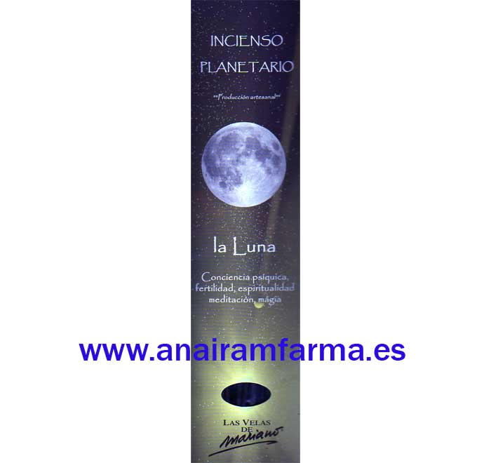 Incienso Planetario La Luna 16 Sticks