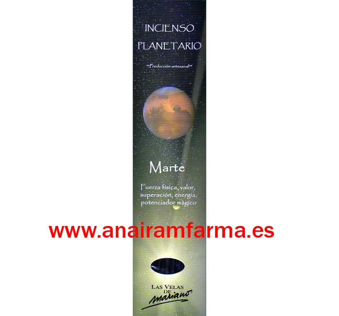 Incienso Planetario Marte 16 Sticks