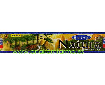 Incienso NagChampa Natural Satya 15g New Pack
