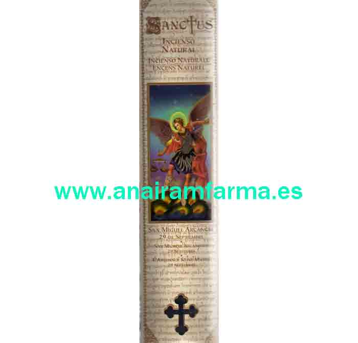 Incienso Sanctus Clavel San Gabriel Arcángel 15Sticks
