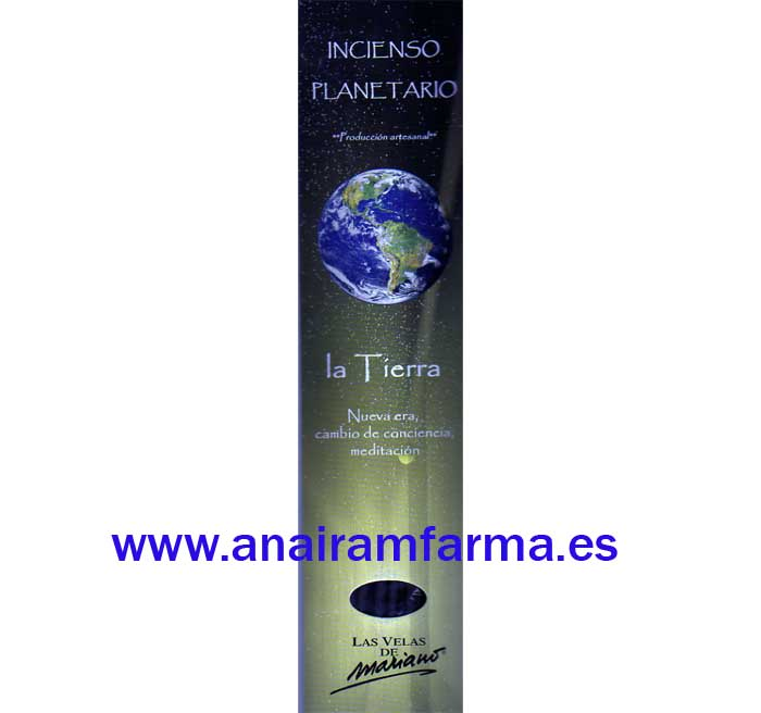 Incienso Planetario La Tierra 16 Sticks