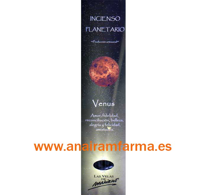 Incienso Planetario Venus 16 Sticks