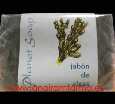 Jabón Algas 100Grs Planet Soap