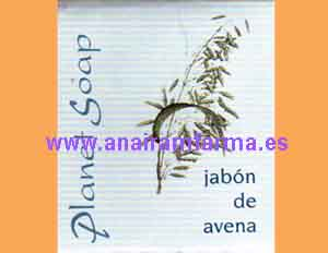 Jabón Avena 100grs Planet Soap