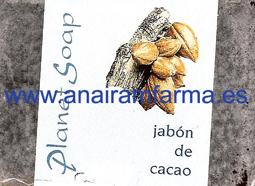 Jabón Cacao 100g Planet Soap