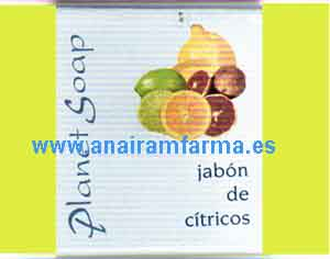 Jabón Cítricos 100grs Planet Soap