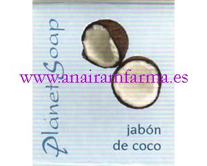Jabón Coco 100grs Planet Soap