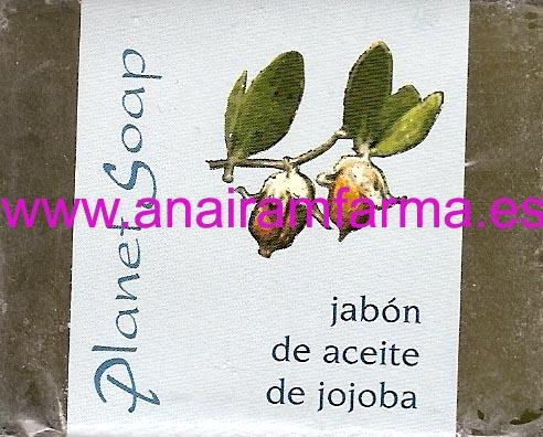 Jabón Aceite Jojoba 100gr Planet Soap