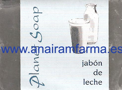 Jabón Leche 100gr Planet Soap
