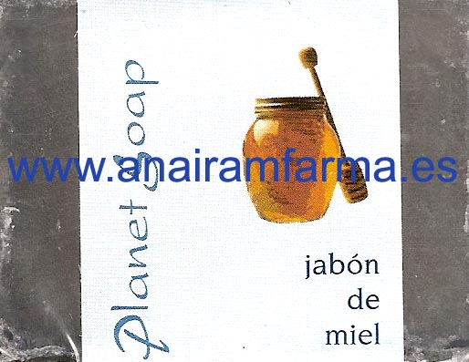 Jabón Miel 100gr Planet Soap