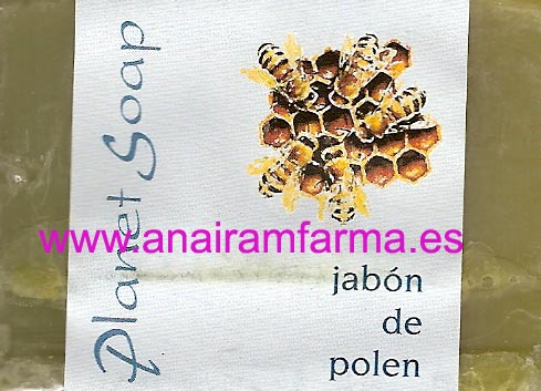 Jabón Polen 100gr Planet Soap