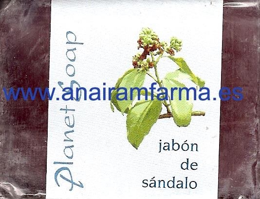 Jabón Sándalo 100gr Planet Soap