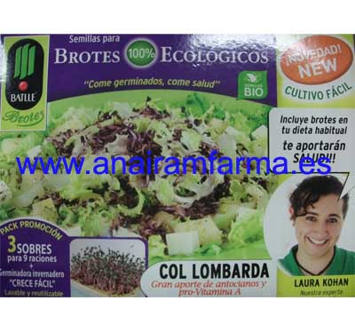 "Kit Germinador ""Col Lombarda"""