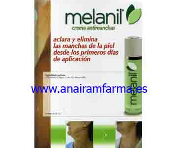 Melanil crema Antimanchas 50 ml.