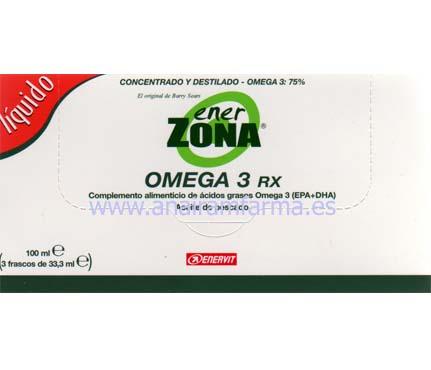 Omega 3 RX Líquido (3 UNIDADES) + REGALO:DVD