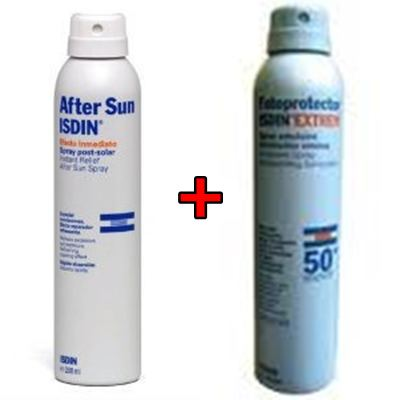 Spray After Sun 200ml + Spray Fotoprotector Extrem 50+