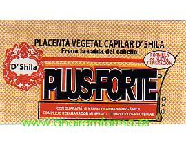 Placenta Vegetal Capilar PLUS-FORTE D'Shila