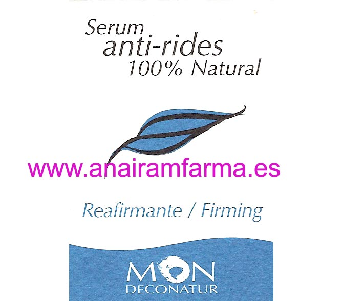 Serum Anti-rides 15ml Mon Deconatur