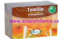Tomillo 20 Filtros Soria Natural
