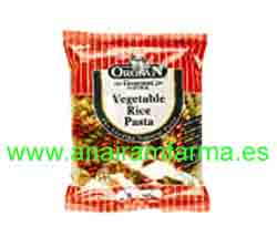"Espirales Arroz y Vegetales Orgran ""Vegetable Rice Paste"" Sin Gl"