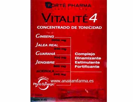 Vitalite4 - 20 sobres 10ml.