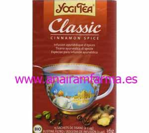 Yogi Tea Classic Canela 15 Filtros